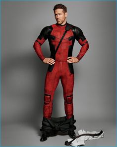 Ryan Reynolds as Deadpool in a kilt! Marvel Dc, Marvel Comics, Dead Pool, Ralph Mcquarrie, Bob Ross, Gq Usa, Ryan Reynolds Deadpool, Deadpool Love, Ryan Deadpool