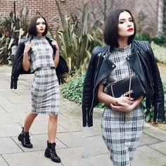 Lolita Mas - Tfnc London Crop Top, Tfnc London Mid Lenght Skirt - Spark the Fire