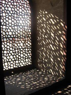 luz filtrada