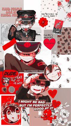 """∑ lockscreen ➱ Hanako-Kun ∑ Anime ➱ Jibaku Shounen Hanako-kun ∑ fav if u like ∑ rt if u save ∑ screenshot if used ∑ don't repost and be honest ∑by: ৎTai·ᴥ·ʔ"" Anime Cat, Anime Eyes, Anime Demon, Otaku Anime, Kawaii Anime, Manga Anime, Anime Wolf, Hero Wallpaper, Cute Anime Wallpaper"