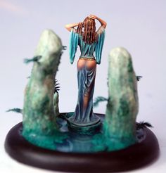 Woman Emerging From Water - Visions in Fantasy - Miniature Lines