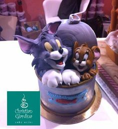 """tom and jerry cake photos 