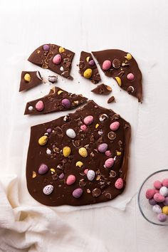 We know around Easter that we indulge in far too many chocolate treats, but we always seem to end up with lots of leftover eggs. If you are getting fed up with what the Easter bunny brought, why not make our easy chocolate bark recipe? Easter Bunny, Easter Eggs, Bark Recipe, Chocolate Treats, Egg Recipes, Easy, Desserts, How To Make, Faith