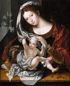 Jan Gossaert (1478-1532): Madonna.