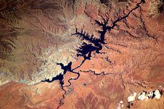 Canyons. Het zuid-westen van de VS heeft adembenemende landschappen. Vanaf de grond en vanuit de ruimte. by André Kuipers, via Flickr