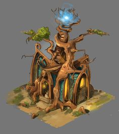 ArtStation - Tree House, Karl Thiart