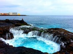 See 30 photos from 118 visitors to Bufadero de Telde. Tenerife, Places To Travel, Places To Visit, Iceland Waterfalls, Spain And Portugal, Island Beach, Canary Islands, Countries Of The World, Nice View
