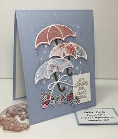 Love's Flowers by razldazl - Cards and Paper Crafts at Splitcoaststampers Brother Scan And Cut, Umbrella Cards, Cute Umbrellas, Stampinup, Under My Umbrella, Stamping Up Cards, Get Well Cards, Flower Cards, Creative Cards