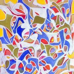 "www.stevenwmiller.com untitled oil on canvas 44x44"""