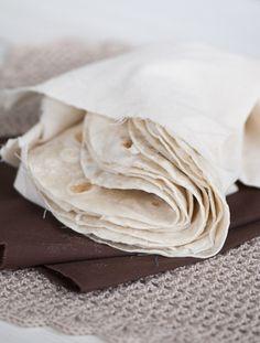 Tortillas Mexicanas Caseras. Las probarás y ya no querrás comprar envasadas nunca más.