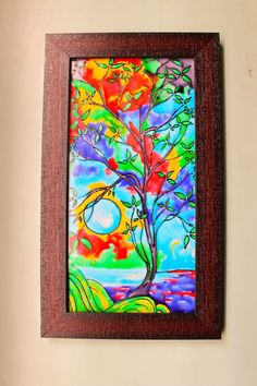 Buy glass painting at 25% off Online India at Kraftly - GLPA48188WGT251374