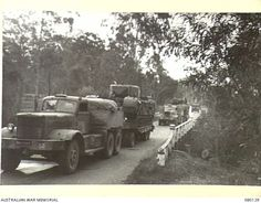 NERANG, QUEENSLAND. 1944-08-14. A CONVOY OF CHURCHILL V TANKS (AMONG THE FIRST LANDED IN AUSTRALIA ), IN MOVEMENT FROM BRISBANE ALONG THE PACIFIC HIGHWAY. Brisbane Queensland, Queensland Australia, Riverside City, Pacific Highway, History Pics, Ww2 Tanks, Old Trucks, Churchill, World War Two