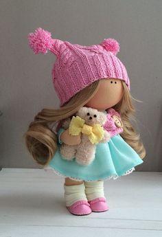 Handmade doll Fabric doll Textile doll от AnnKirillartPlace