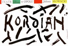 Kordian, 1987 Kordian, 1987 Tomaszewski Henryk Polish Poster