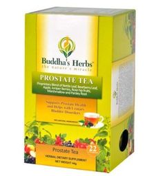 Buddha's Herbs Premium Prostate Tea with Nettle and Bearberry, 22-Count Tea Bags. Product on Sale $10.99 - $19.65