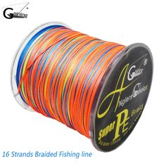 Find More Underwear Information about Gaining Braided Fishing Line 16 Strands 300M Multi Color Super Strong Japan Multifilament PE Braid Line 95LB 137LB 254LB 309LB,High Quality Underwear from fishers zone on Aliexpress.com