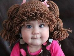 Cabbage Patch Kids-Inspired Knit Hats