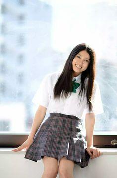 土屋太鳳 Waist Skirt, High Waisted Skirt, School Uniform Girls, Japanese Girl, Skater Skirt, Skirts, Fashion, Japan Girl, High Waist Skirt