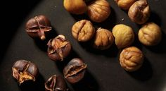 One of the first signs of winter, aside from holiday lights, is roasted chestnuts sold on city streets. Slowly roasted, the chestnut, which is more like a starch. Cranberry Orange Bread, Cranberry Jam, Best Christmas Desserts, Christmas Dishes, Tart Recipes, Dessert Recipes, Sloth Cakes, Baking Fails, Chestnut Recipes