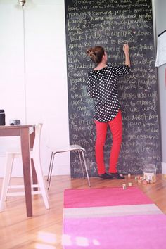 This is SO me. A board to write down all my random inspirational quotes and ideas to get me through each day <3 LOVE it!