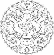 Relax With These 168 Free, Printable Coloring Pages for Adults: Coloring Pages for Adults from Faber-Castell
