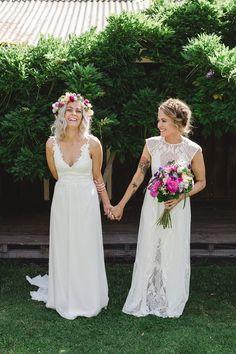 Colourful Garden Party Wedding - Polka Dot Bride
