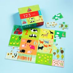 Idea for ava--Kids Puzzles: Childrens Colorful Farm Puzzle in All Toys