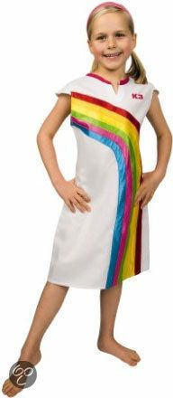 K3 Regenboog Jurkje - Kostuum - 3-6 jaar