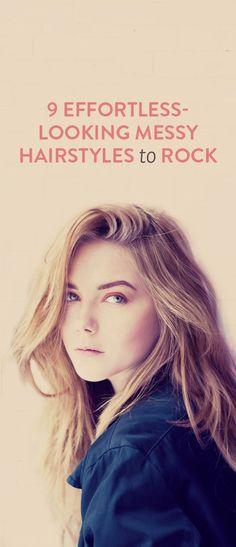 effortless hairstyles