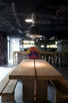 Kaper Design; Restaurant & Hospitality Design: Mama Shelter