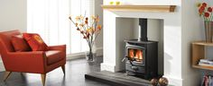 Arada Limited from Axminster are the UK's largest manufacturer of wood-burning and multi-fuel stoves.   Aarrow stove by arada. suitable for enclosing log burner.  Maybe chunkier sleepers on either side as well as on top