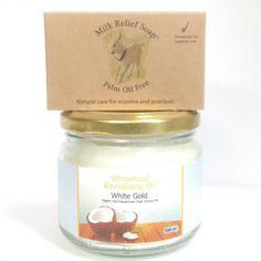 1 Bar of Milk Relief Soap + 1 x 300ml White Gold oil