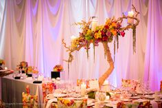 What a centerpiece!!  So pretty!  Get your four complimentary tickets to one of our Luxury Bridal Events at www.bridalexpotickets.com