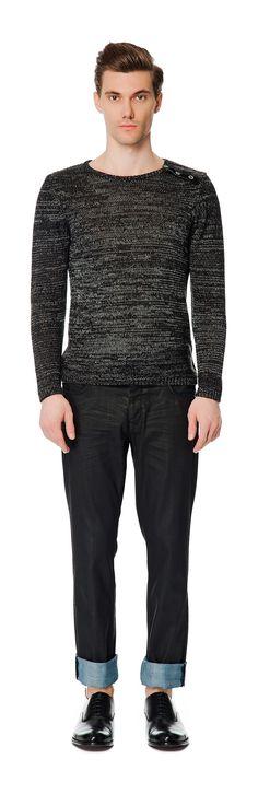 #Network - Siyah Bisiklet Yaka #Kazak ürün no: 917762 @ Brand-Store.com - 86 TL