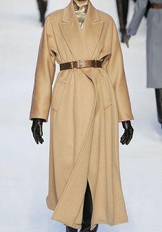 MaxMara Fall 2010 RTW Wool Long Coat