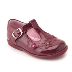 b6b8cc7470c5a ... Girls Buckle T-bar First Walking Shoes are available in a wide range of  sizes and width fittings - Quality Childrens Shoes & Boots from Start-Rite