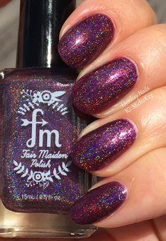 ehmkay nails: Fair Maiden Just a Mirage