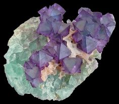 Beautiful Octahedral Fluorite from China