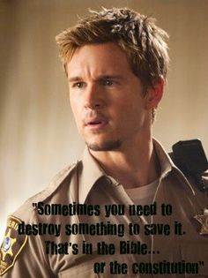 Jason Stackhouse | even when he manages to be deep he's still stupid