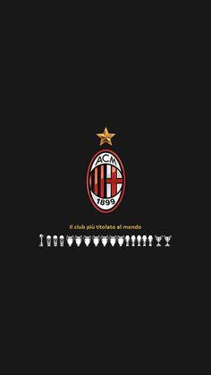 Milan Football, Football Icon, World Football, Milan Wallpaper, Wallpaper Wallpapers, Iphone Wallpapers, Red Colour Wallpaper, Ac Milan Kit, Paolo Maldini