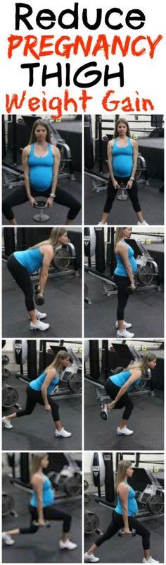 Pregnancy Thigh Weight Gain