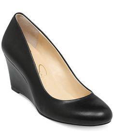 c2fc31acb5 Jessica Simpson Sampson Wedge Pumps & Reviews - Pumps - Shoes - Macy's