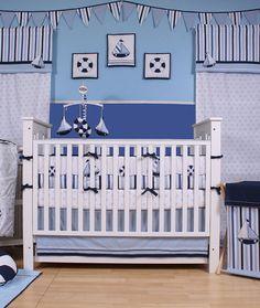 Bacati Little Sailor Bedding Coordinates