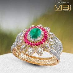 Witness The Once And Grandeur Of This Majestic Bangle From Thehouseofmbj Stani Jewelry Indian