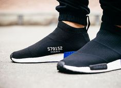 Adidas NMD_CS1 Primeknit 'Core Black' post image
