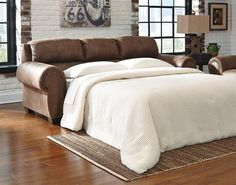 Burnsville Traditional Classics Espresso Queen Sofa Sleeper