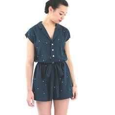 Combishort Yvonne/ Patron de couture-sewing pattern / République Du Chiffon