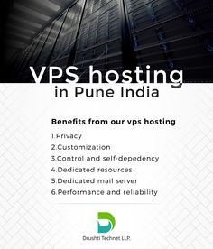 Drushti Technet LLP provides Virtual Private Server services with various packages. For more details Visit:http://www.dinpl.com/virtual-private-server/