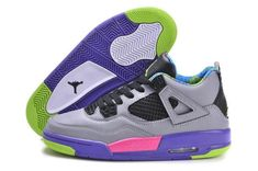 newest 58517 13f67 Buy Italy Nike Air Jordan Iv 4 Retro Mens Shoes Grey Black Purple from  Reliable Italy Nike Air Jordan Iv 4 Retro Mens Shoes Grey Black Purple  suppliers.