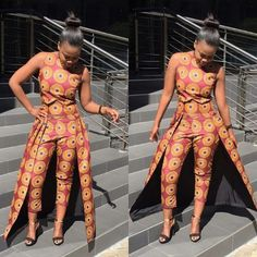 Creative Ankara Style for Ladies . Creative Ankara Style for Ladies Modern African Print Dresses, African Dresses For Women, African Attire, African Wear, African Women, African Style, African Clothes, African Outfits, African Inspired Fashion
